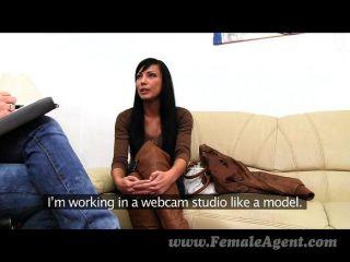 Schöne Webcam-model Stiehlt Allen Die Show