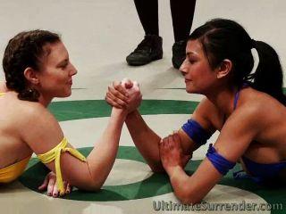 Geile Frauen Im Wrestling Tag Team