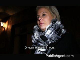 Publicagent - Partner In Porno Trick Blonde