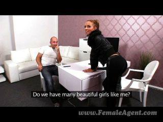 Femaleagent - Creampie Für Sexy Agent Casting