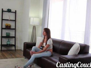 Casting Couch-x Georgia Peach Begeistert Für Sex