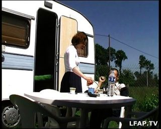 Amateur Französisch Paar Analsex Im Freien Tun