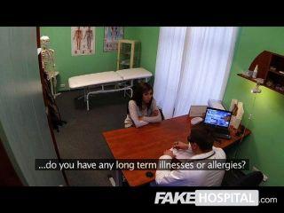 Gefälschte Krankenhaus - Kopfschmerzen, Die Durch Großen Schwanz Geheilt
