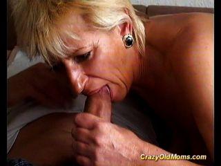 Verrückte Alte Mutter Wird Hart Gefickt