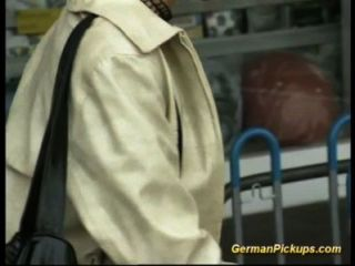 Deutsch Dame Im Shop Abgeholt