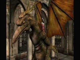 3d-animation: Fee Und Drachen