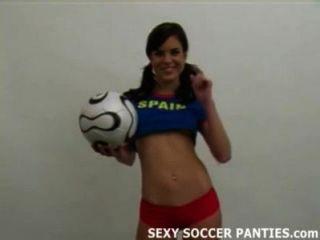 Sexy Spanischen Fußball-hottie Wird Nackt