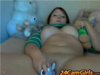 Mollig Webcam Dildo 2 - Www.24camgirls.com