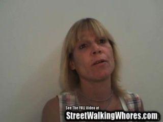 Blonde Schlampe Von Der Straße Bläst Mich
