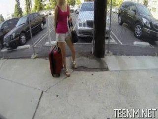 Salacious Muff Stampfen Für Gesetzliche Alter Teenager Maddy Stieg