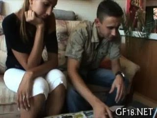 Seine Freundin Hart Gebohrt Bekommen