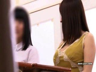 Heiße Massage Mädchen Öffentlichkeit Verzaubern