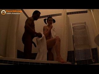 Interracial Amateur Teen Paar Macht Video