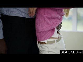 Schwarze Kleine Blonde Frau Kennedy Kressler Bekommt Rache Mit Einem Großen Schwarzen Schwanz