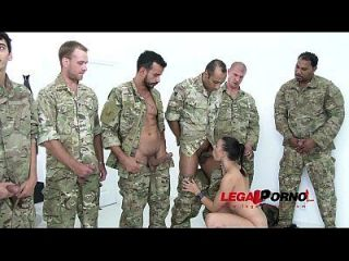 10 Männer Anal Gangbang Für Billy Star Sz961