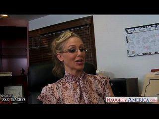 Blonde Lehrer Julia Ann Fucking Ein Bbc