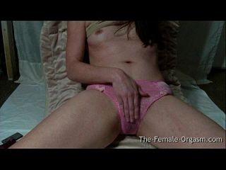 Geile Mädchen Super Nasse Pussy Masturbation Zum Pulsierenden Orgasmus