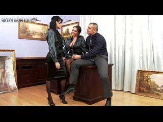Upperclassfuckfest Anissa Kate, Nikita Devine Wenn Der Chef Gemein Wird, Werden Büroküken Ass \u0026 # 0