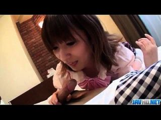 Hiromi Erstaunt Mit Blowjob Vor Ernsten Sex Szenen