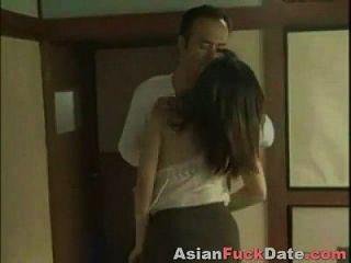 Geile Chinesische Hausfrau