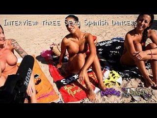 Topless Beach Interviews Mit Echten Geilen Schlampen Im Ausland Im Urlaub