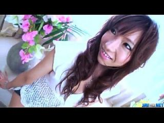 Serina Hayakawa Geht Auf Hahn In Grober Porno-show