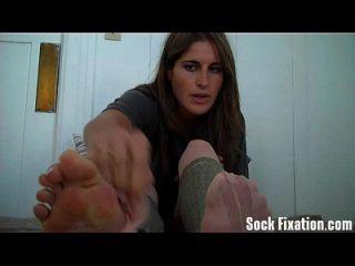 Ich Möchte, Dass Du Meine Schmutzigen Füße Sauber Leckst