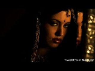 Bollywood Schönheit Liebt Es Zu Tanzen
