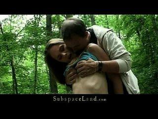 Bdsm Fantasie In Den Wald Mit Busty Sklave