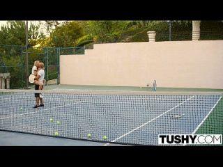 Tushy Erste Anal Für Tennis-student Aubrey Stern