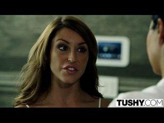 Tushy Escort Christiana Cinn Bekommt Anal Von Top Client