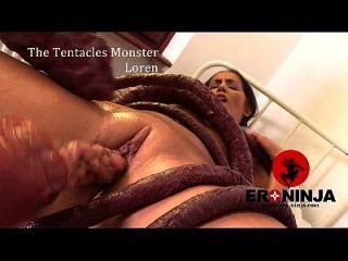 Das Tentakel Monster Loren Minaldi