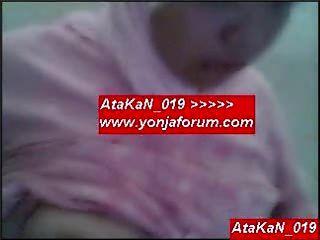 Fotogeschäft 2 Arabisches Hijab Türkisch Hündin