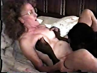 Nymphomanin Reifen Weißen Frau Mit Schwarzen Teil 1