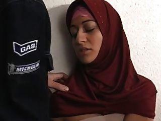 Arab Muslim Hijab Turbanli Mädchen 2 Ficken - Nv