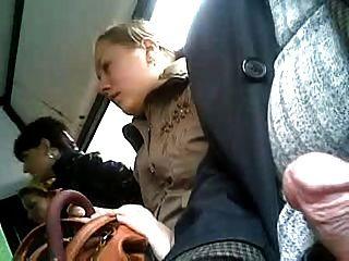Drei Frauen Auf Dem Bus