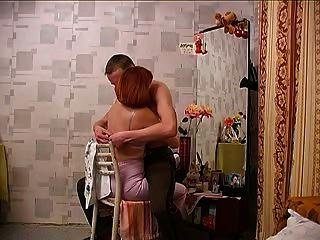 Rothaarige Russische Mutter & Sohn