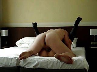 Schlampe Frau Fickt Fremd In Motel Infront Hubby Hahnrei