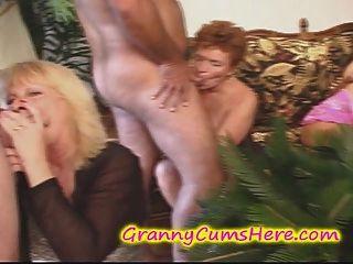 Meine Grannys Swingerparty Mit Ein Paar Töchter Zu