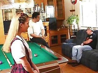 Teen Babysitter Sabrina Jade Tut Papa M27