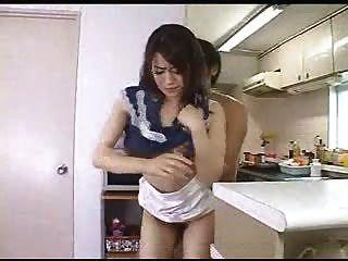 Japanische Hausfrau Gefangen Betrug