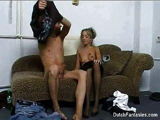 Dutch Couch Sex Lange