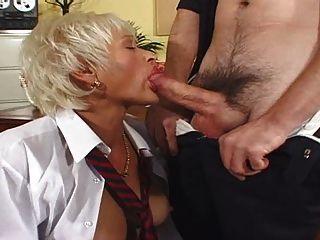 Fick Die Sekretärin