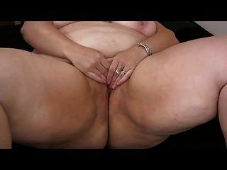 Fett Fettleibig Bbw Ex Gf Ihre Feuchte Muschi Masturbiert