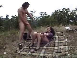 Oma Sex Im Freien