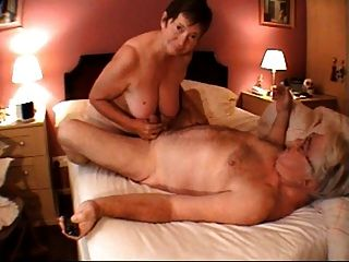 Oma Handjob Massage