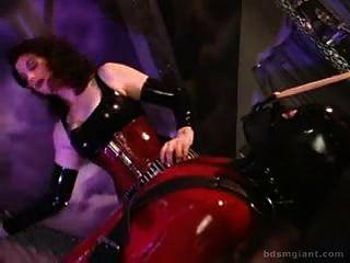 Roten Gummi Klitoris Kitzeln