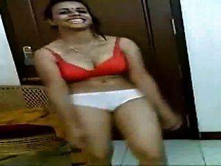 Kerala Aunty Zeigen Mit Ihrem Bf
