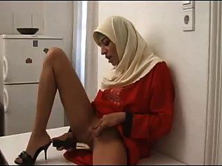 Arabisch-muslimischen Hijab
