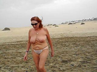 Ein Spaziergang Am Strand Von Maspalomas
